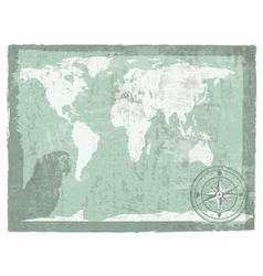Travel vintage background vector