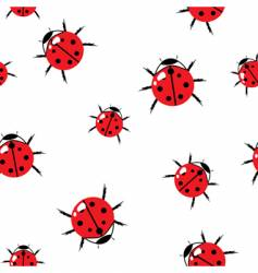 bugs background vector image
