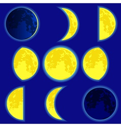 Lunar phase vector