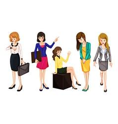 Working women vector
