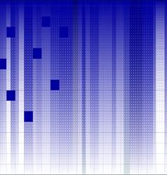 Blue linear fade 2 vector image vector image