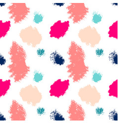 Abstract paint stains picturesque background vector