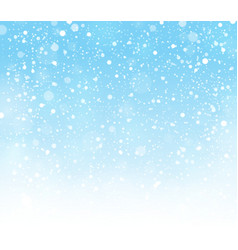 Abstract snow topic background 1 vector
