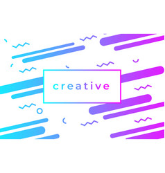 creative design poster abstract gradient vector image