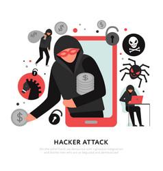 Hacker attack vector