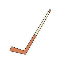 hockey stick icon image vector image