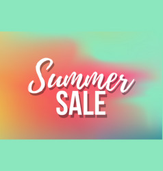 hot summer sale banner trendy texture season vector image
