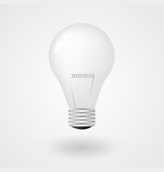 light bulb electricity energy vector image