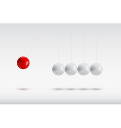 Newtons balls vector