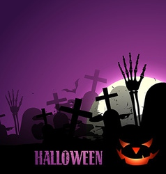 stylish halloween design vector image