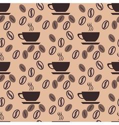 Good coffe pattern vector image