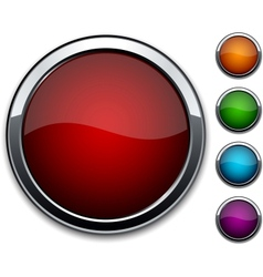 High-detailed buttons vector