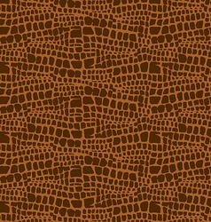 Animal skin hand drawn texture seamless pattern vector image