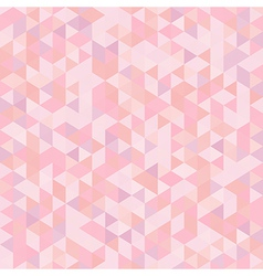 Light Seamless Pattern of Triangles vector image