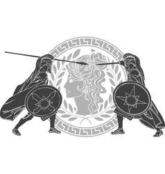 trojan war third variant vector image vector image