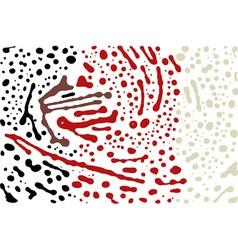 brush stroke background vector image vector image