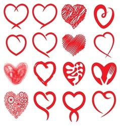 Big heart collection1 vector