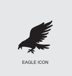 Eagle icon vector