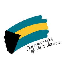 National flag commonwealth bahamas vector