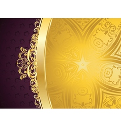 Purple Decorative Background vector image
