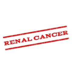 Renal Cancer Watermark Stamp vector