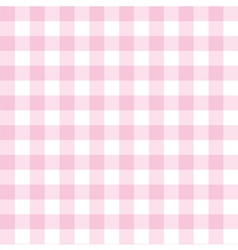 Seamless pink and white valentines background vector image