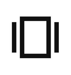Smartphone vibration icon in modern design style vector