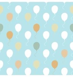 balloon pattern seamless vector image