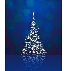 christmas background blue 2311 01 vector image