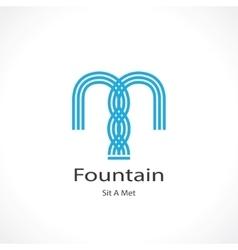 fountain vector image vector image