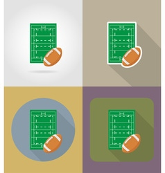 sport flat icons 66 vector image vector image