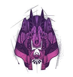 Anubis guardian underworld vector