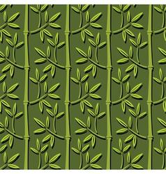 Bamboo ornament vector