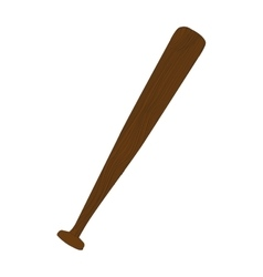 Baseball bat icon image vector