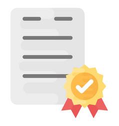 Certified document vector
