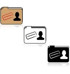Confidential file vector