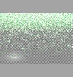 Green shining background vector