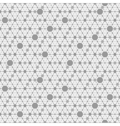 network gray background vector image