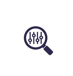 Search optimization icon vector