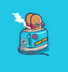 Skate life vector