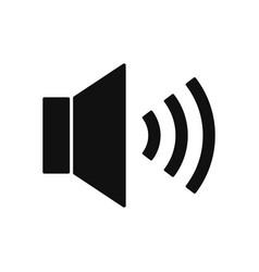 speaker icon volume symbol in modern design style vector image