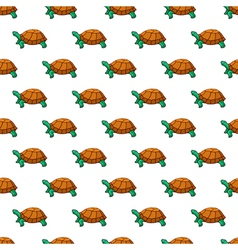 Turtles pattern vector image