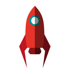 space rocket icon image vector image vector image