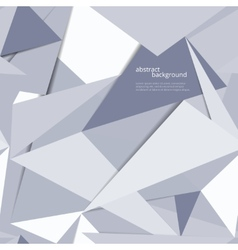 Origami geometric background vector image vector image