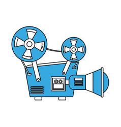 35mm movie camcorder vector