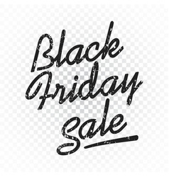 black friday sale discount text clothes food vector image