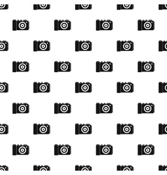 Camera pattern simple style vector