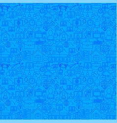 Freelance line seamless pattern vector