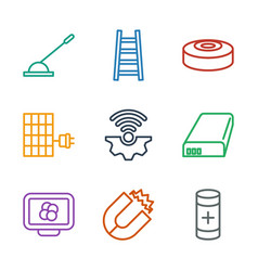 Power icons vector