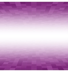 Purple Mosaic Tile Square Background Perspective vector image